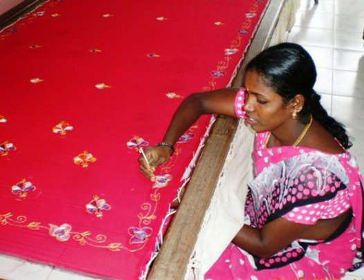 Provide embroidery training to 60 poor women india