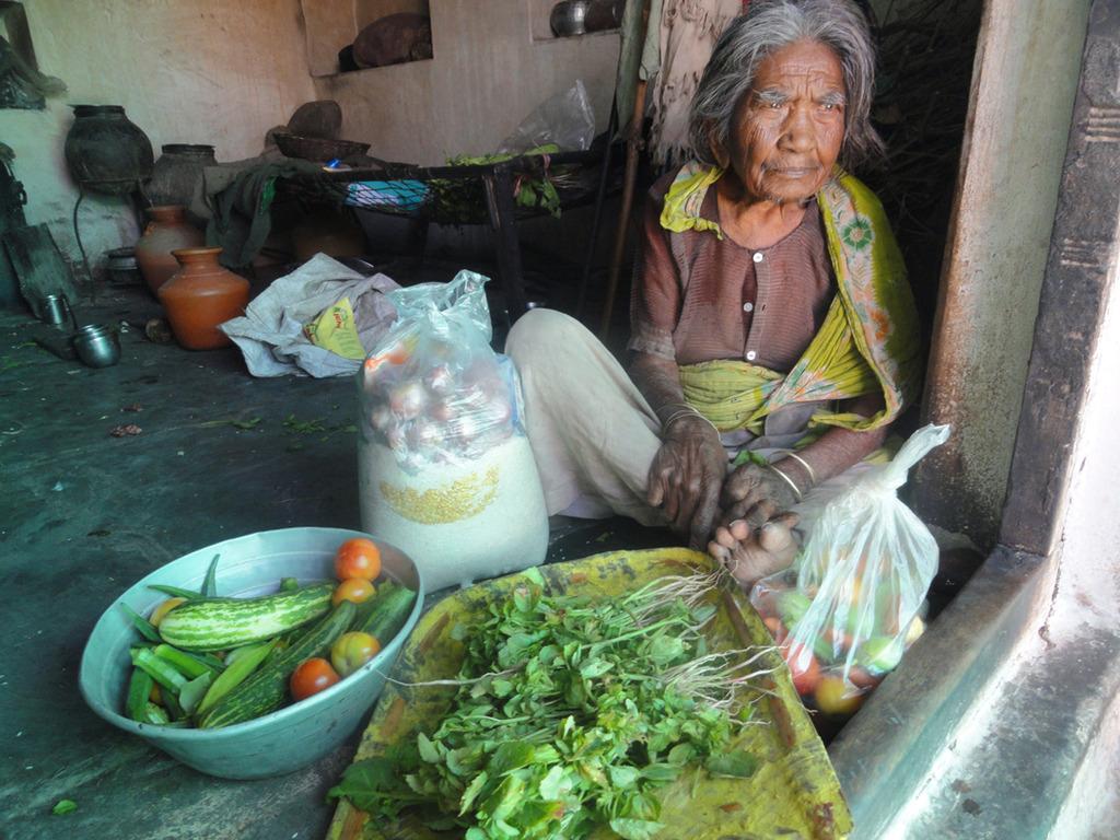 Image of: Older Sponsoringgroceriestopooroldagewoman Globalgiving Reports On Sponsor Food Groceries To Old Age People In India