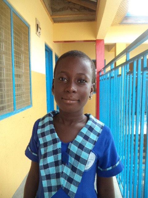 Erica at Mercy School