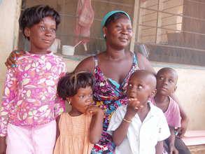 Erica in the Gbawe community
