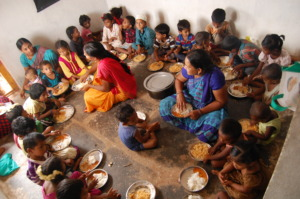 Food sponsorship to poor kids in day care centers