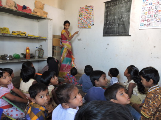 Learning Preprimary education skills at daycare