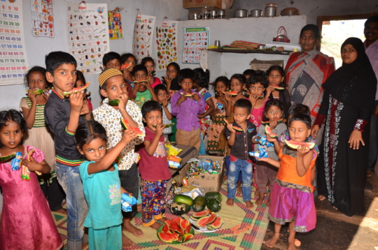 donate online for poor kids in creches nonprofit