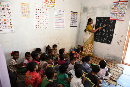 Sponsor a child for education in Day Care Centers
