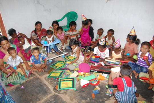 Pre-primary education for poor kids in creches