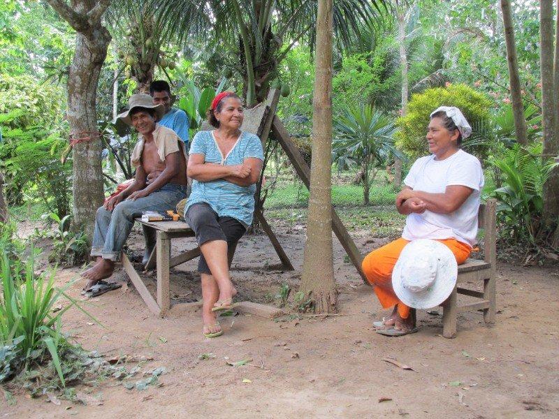 Juan and the Camino Verde team