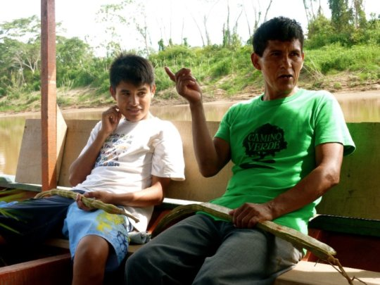 Rafaele and his son, Isaias
