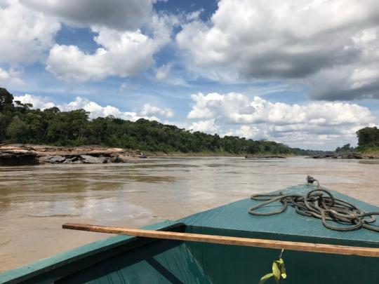 The Tambopata River, Madre de Dios, Peru