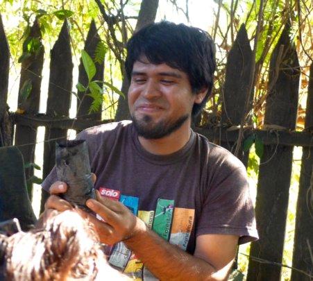 Nurseryman Manuel Huinga