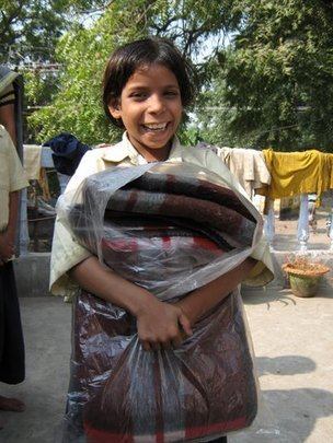 Bring more Winter Warmth to Street Kids in India