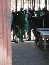 Prisoners at Burundi's Largest Prison.