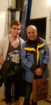 Zhivko and his mentor