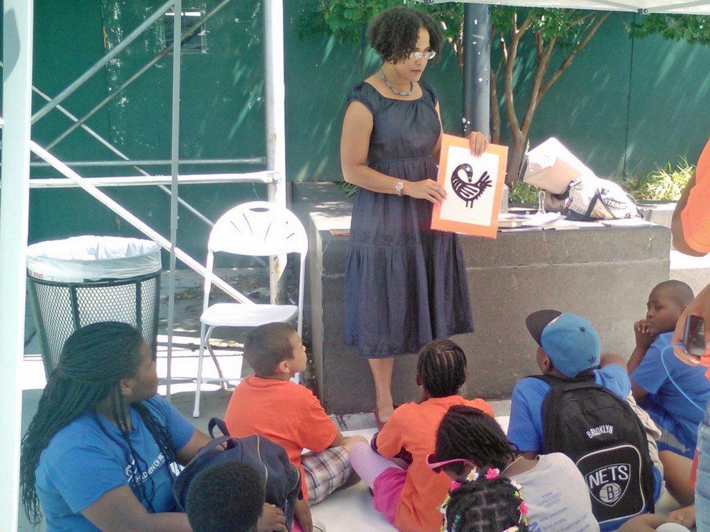 Kids corner story-time