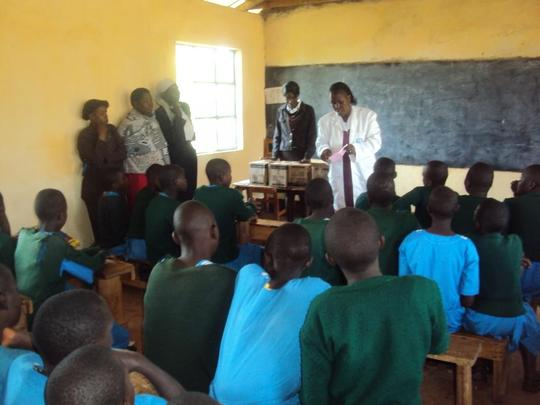 Reproductive health training by Health Officer