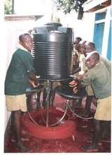 Testing Water and New Sanitation Facilites