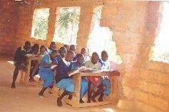 Internally displaced pupils in a 'special class'