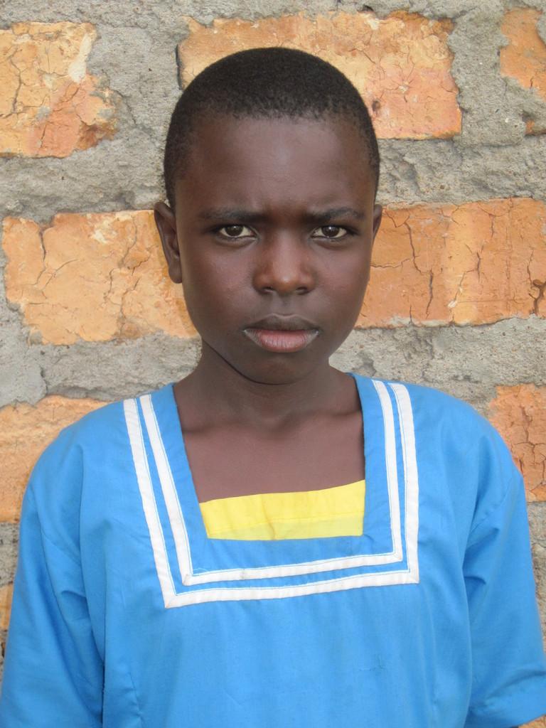 sanitary towels  beneficiary - Rianyabwanga school