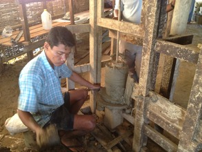 Forming the stoves using a spinning mold