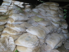 Kaolin, used for increasing heat resistance