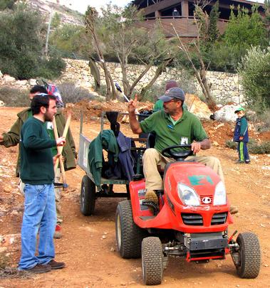 Groundskeeping Staff Lead the Tree Planting Effort
