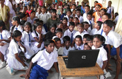 Setting up of Computer Centres in slums & Villages