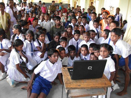 Computer Skills for Youth in Rural, Slum Areas