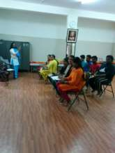 Spoken English class @ KP Agrahara Lab