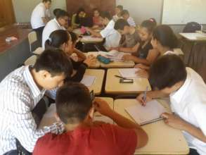 Group work in Community 3 (grades 6-9)