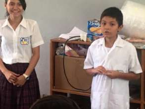 Presentation action-shot