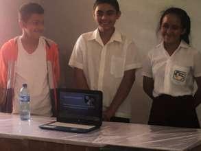 Presentation action-shot #2