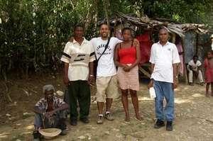 Haiti Non-clinic David Walton with staff