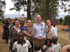 Rwanda Non-clinic Paul Jen Amy Dan Children