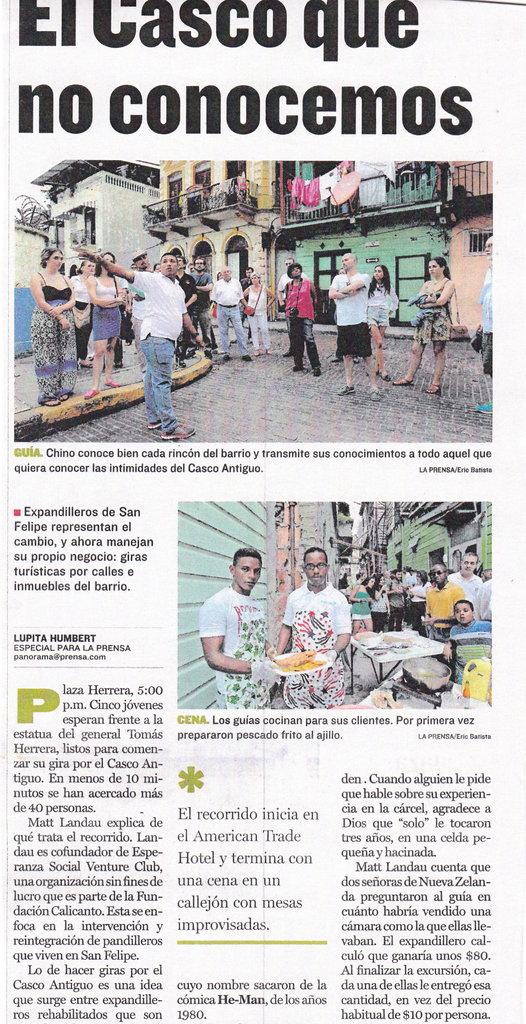 La Prensa Covers Forteleza