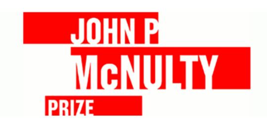 The John P. McNulty Prize Nomination