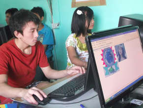 Prospect Burma students gaining computer skills