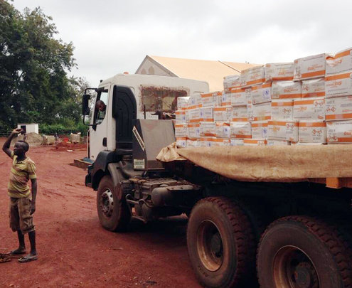 Plumpy'Sup heads to refugee camp in Cameroon
