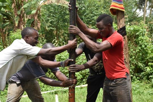 Katogo Health Center borehole repair