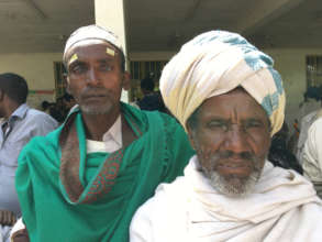 40 year old farmer, with his sight restored