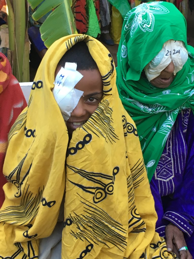 Outreach Eye Camps in Ethiopia