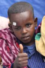 A young boy post op in Arbaminch, Ethiopia