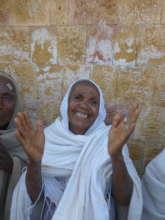 A happy patient in Quiha