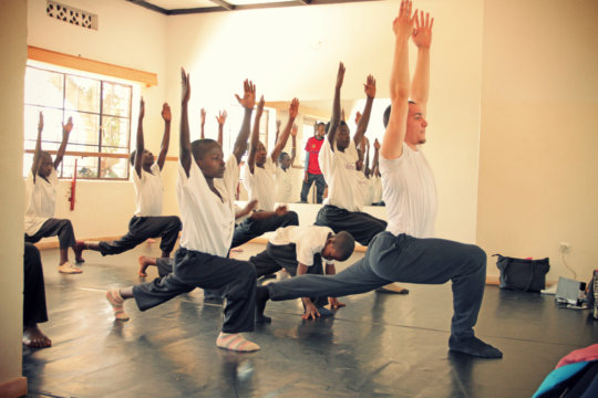 Dance Class at MindLeaps