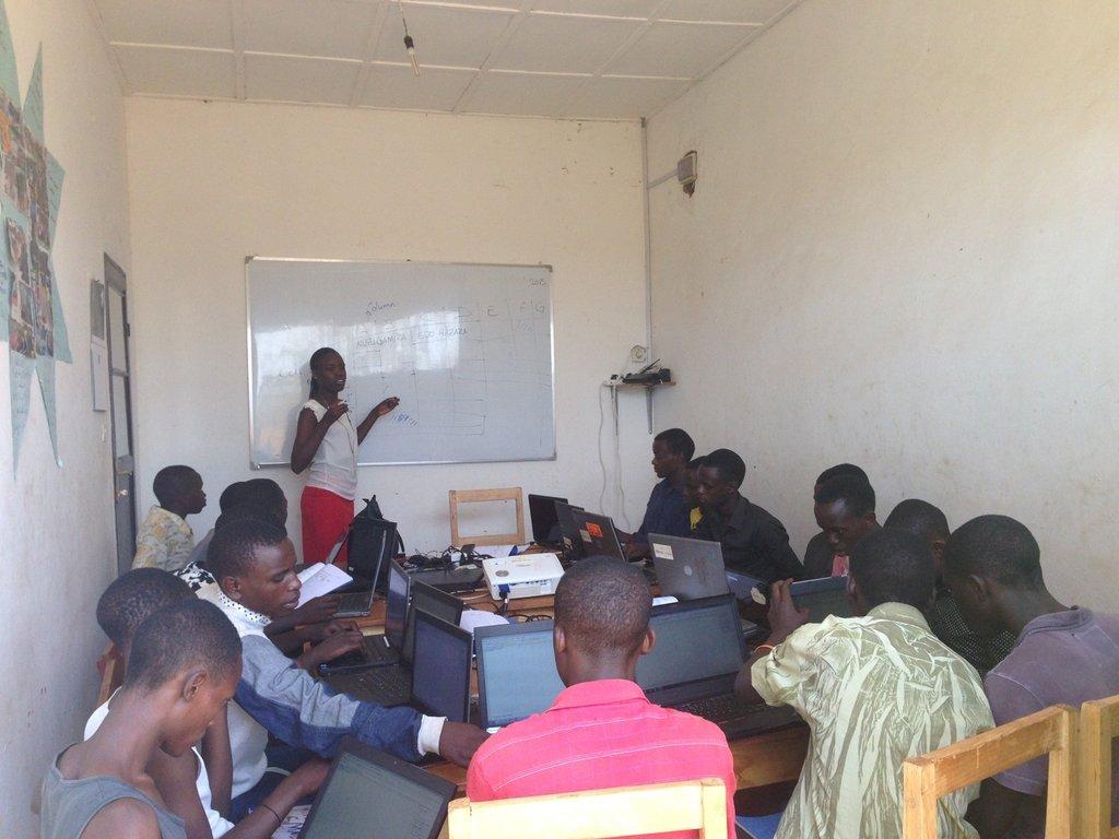 Entrepreneurship training with DOT Rwanda