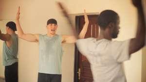 Teacher training with Mark