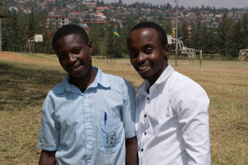 Manishimwe - now at vocational school