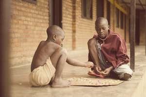 Street Children Playing