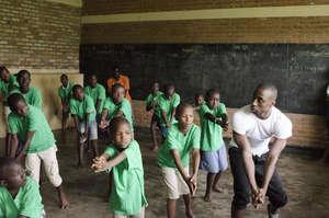 LaMar Baylor Teaching in Rwanda