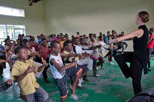 Dance Class in Rugerero