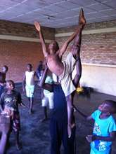 Samuel in Rwanda