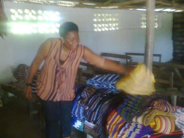 Anita Koroma Founder of Weaving Project
